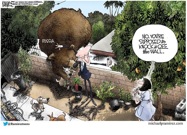 Editorial cartoon (1): June 13, 2021