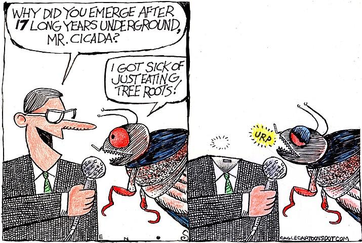 Editorial cartoon (1): June 12, 2021