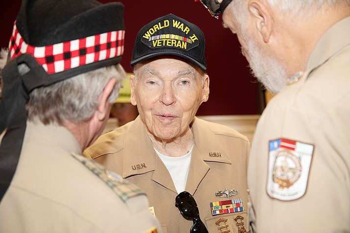 D-Day survivor Jerome Welna. (Courtesy)
