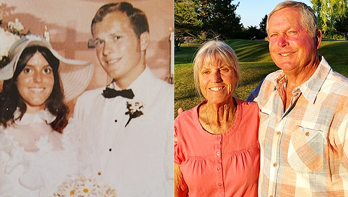 Steve and Mary Harbeck will celebrate their 50th wedding anniversary June 13. (Courtesy)