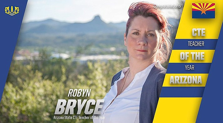 Robyn Bryce. PHS contribution from her award announcement. (Courtesy)
