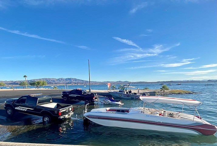 A 16-year-old boy is in critical condition after his personal watercraft collided with a boat on Lake Havasu Saturday afternoon. (Courtesy via Today's News Herald)