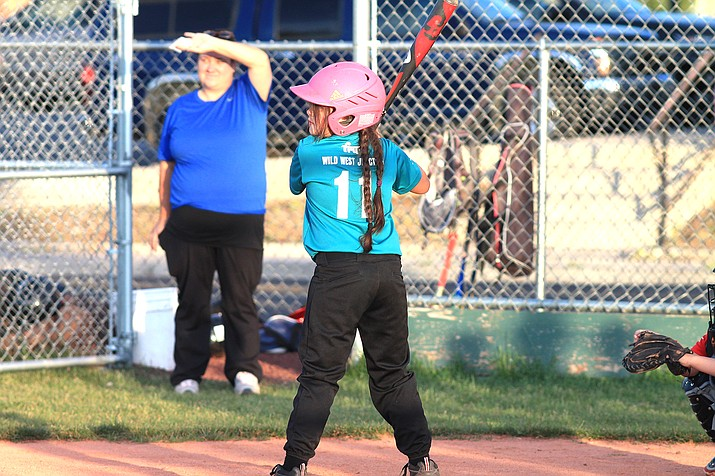 Minors Little League teams faced each other June 8 in Williams. (Loretta McKenney/WGCN)