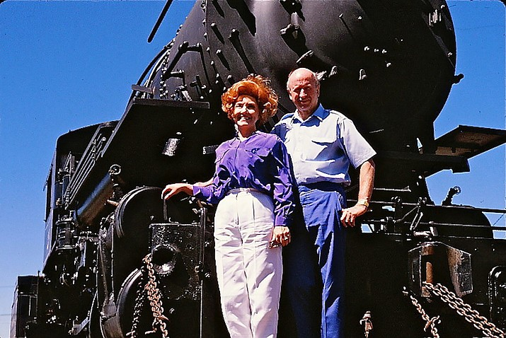 Max and Thelma Biegert are remembered for revitalizing Grand Canyon Railway and for their contributions to the Williams community. The couple passed away of natural causes at their home in Paradise Valley, Arizona last month. (Submitted photo)