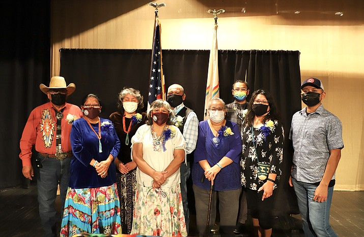 The Navajo Nation Department of Retirement held a virtual event June 11 recognizing 325 employees who retired in 2019 and 2020. (Photo/Office of the Navajo President and Vice President)