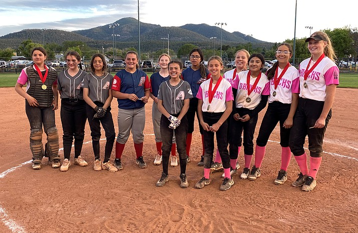 The Williams Little League announced the 11 and 12 year-old All Star team June 7. Players include: Harley Green, Faith Jensen, Eva Flores, Danika Howe, Laynie Johnson, Crystal Nixon, Kenzie Orozco, Arlette Sotelo-Ayala, Andrea Vazquez,  Aura Mendez, Gracie Staples and Daizy Vazquez. (Submitted photo)