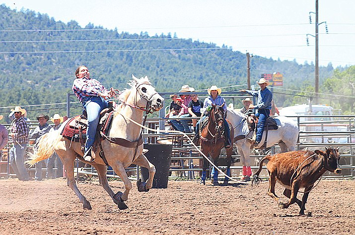 The 2021 Cowpuncher's Reunion Rodeo is June 19-20. (Wendy Howell/WGCN)