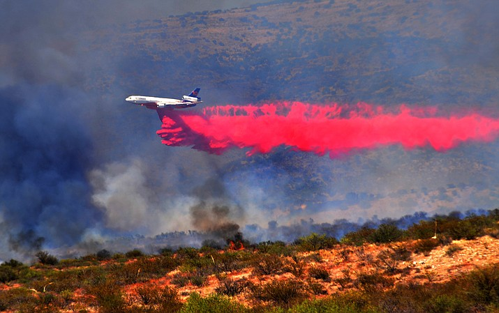 In addition to the 1,200-acre Cornville Fire, there are 15 other active fires in Arizona. VVN/Vyto Starinskas