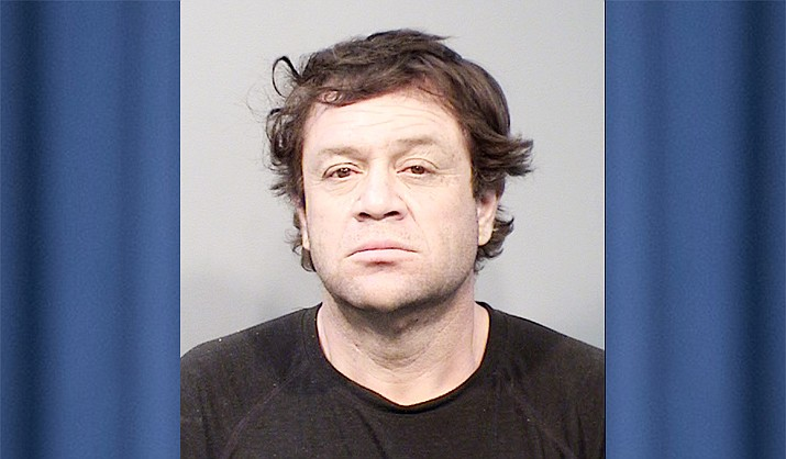 Jorge Meza-Diaz, 45, of Bagdad was arrested by the Yavapai County Sheriff's Office on Wednesday, June 9, 2021, after he reportedly trespassed into a house that burned down in Bagdad's Spur Fire and looted a rifle, according to a news release. (YCSO/Courtesy)