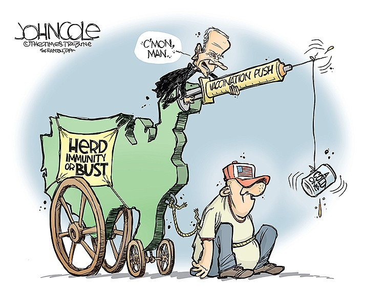 Editorial Cartoon | June 18, 2021
