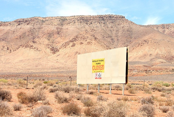 Navajo Nation President Jonathan Nez requested a special session of the Navajo Nation Council be held to consider reopening roads and Navajo Tribal Parks to reopen at 50 percent capacity June 18. (Loretta McKenney/NHO)
