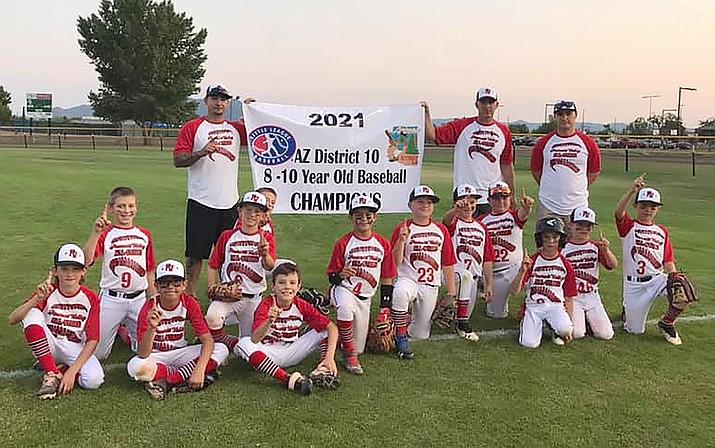 The Prescott Valley team celebrates its victory Thursday, June 17, 2021. (Courtesy)