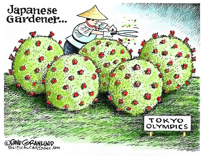 Editorial cartoon (2): June 22, 2021