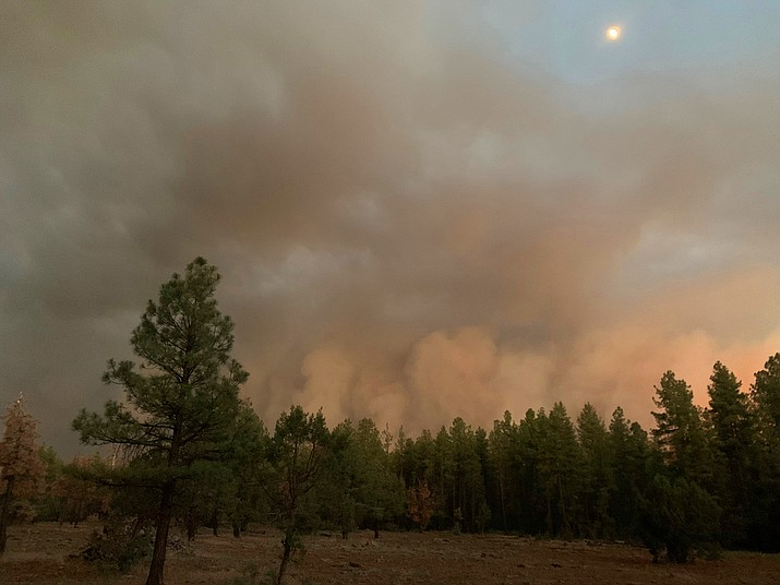 The Rafael Fire has grown to 20,000 acres as of June 21. (Loretta McKenney/WGCN)