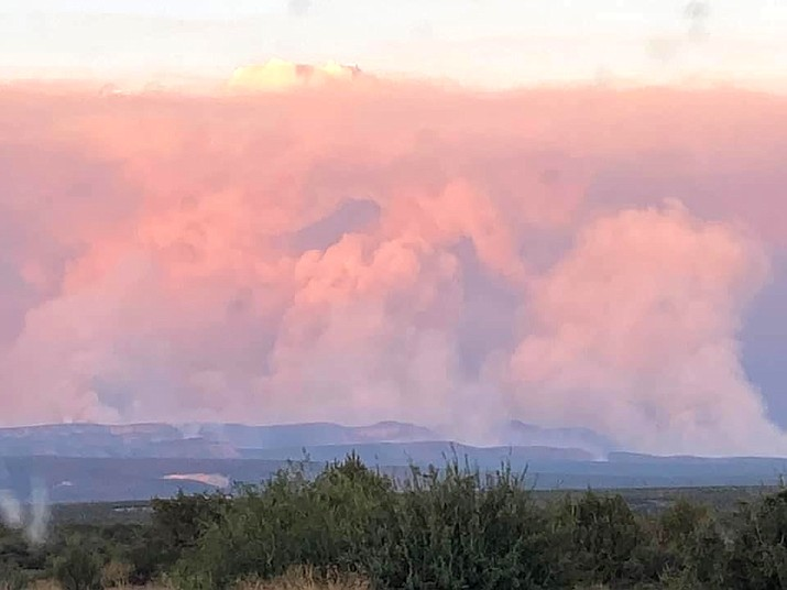 The Rafael Fire was discovered on June 18. It was the result of passing predominantly dry thunderstorms. (Photo/Inciweb)