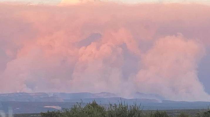Rafael Fire explodes to 20,000 acres in Yavapai County; YCSO gives Paulden 'set' evacuation status for Silent Fire