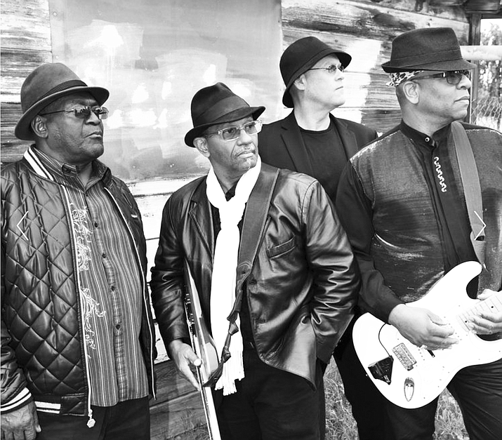 """Bluesman Mike and the Blues Review Band, longtime performers in the Phoenix area, find themselves in top form with their latest CD""""Knee Deep Into These Blues."""" Photo courtesy of Bluesman Mike and the Blues Review Band"""