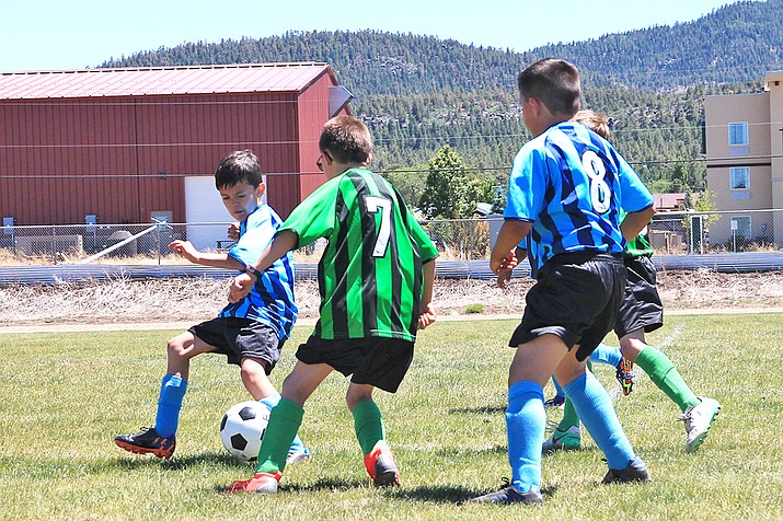 Williams AYSO soccer teams kicked off the season earlier this month and have games scheduled throughout the rest of the season at Williams Elementary-Middle School. (Loretta McKenney/WGCN)