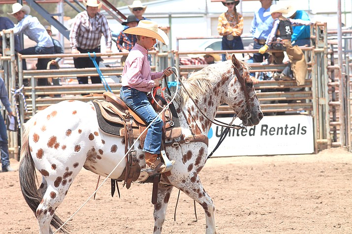 The 43rd annual Cowpunchers Reunion Rodeo took place in Williams June 18-20. The event was open to the public on Saturday and Sunday, drawing crowds of spectators. (Loretta McKenney/WGCN)