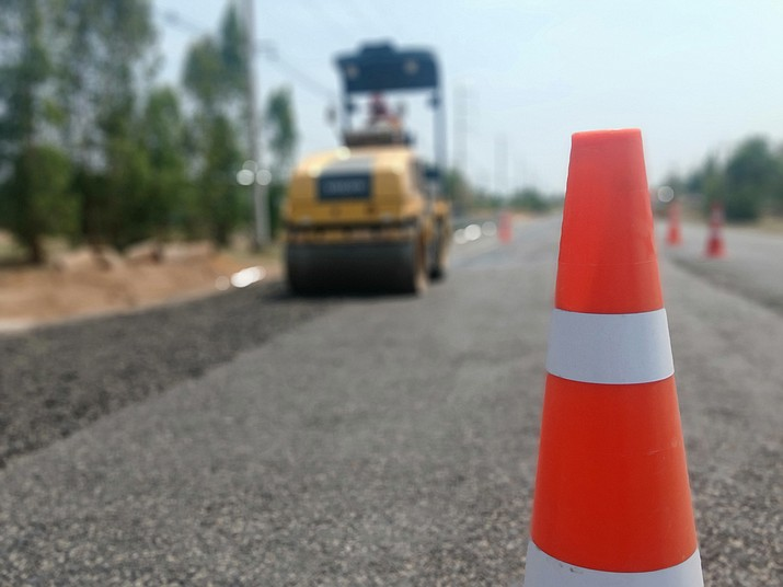 Yavapai County will be performing roadwork on Drake Road north of Paulden from June 28 and through Aug. 19, 2021. (Courier stock photo)