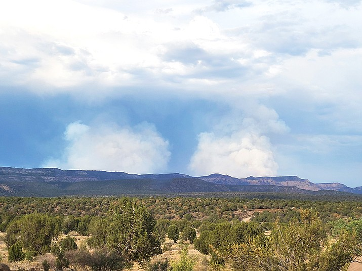 The Rafael Fire grew to 39,641 acres as of June 25 and is zero percent contained. (Photo/Chris Acosta)