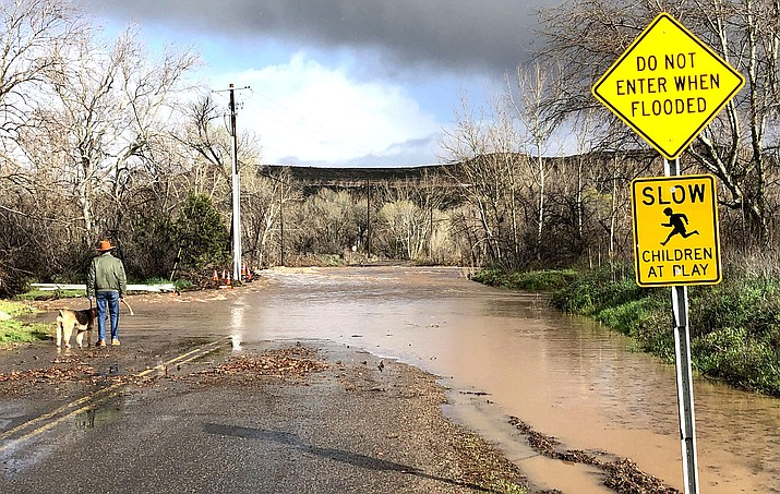 As we enter monsoon season following the fires, it is important to evaluate the capacity for storm runoff on your property. Make sure all drains, culverts, and waterways are free from obstruction. VVN file photo
