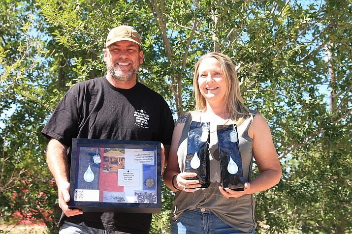 Thomas West and his wife Shannon Francis are helping veterans through their non-profit Operation Outside the Wire. They are selling coffee memberships to help support their dream of opening a ranch that will help veterans transition from military to civilian life. (Loretta McKenney/WGCN)