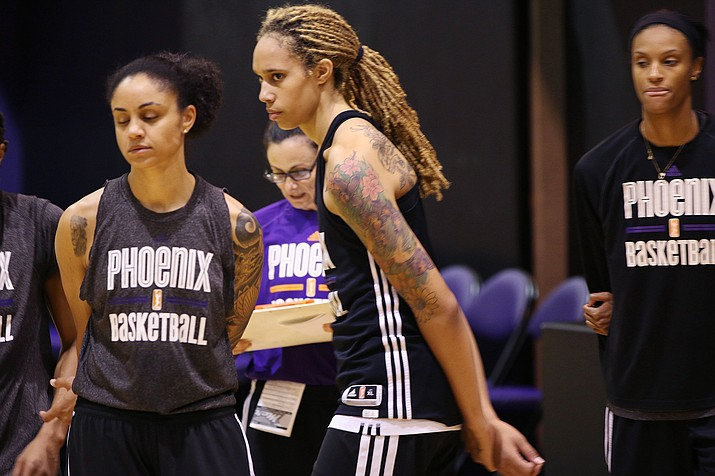 Brittney Griner and other women make up 40% of all athletes but only 4% of sports media coverage, according to a UNESCO survey. Betting could bring more interest to women's sports, experts say, but lack of media coverage also is an issue. (File photo by Chris Caraveo/Cronkite News)