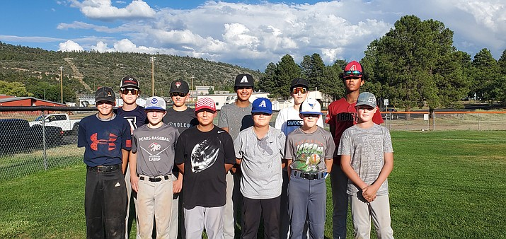 The Williams Juniors All-Star team heads to the District 4 tournament July 6. The team includes: Jojo Captain, Jack Dent, Quintin Ford, Fabian Gomez-Sotelo, Jace Maebe, Artie Martinez, Branson Milius, Mario Pedraza, Johnny Romero, Cade Trimble and Aiden Uebel and Jacob Winchester.  (Submitted photo)