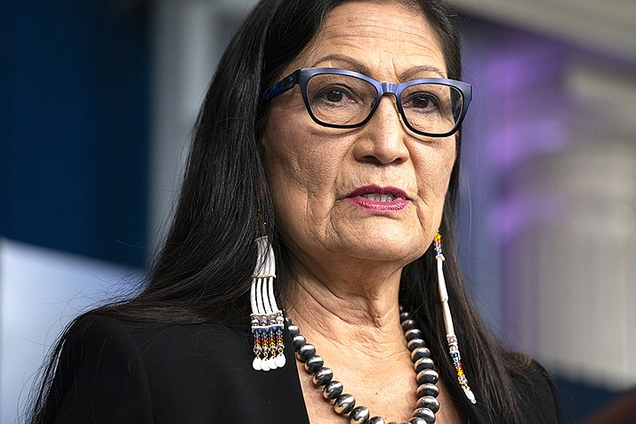 On June 22, Haaland and other federal officials are expected to announce steps that the federal government plans to take to reconcile the legacy of boarding school policies on Indigenous families and communities across the U.S. (AP Photo/Evan Vucci, File)