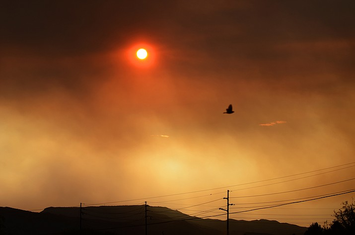 The Rafael Fire, which is at about 78,000 acres in size, was 72% contained as of late Wednesday morning. The Backbone Fire, at 41,000 acres, was 76% contained. VVN/Vyto Starinskas