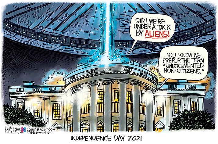 Editorial Cartoon   July 2, 2021