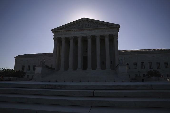 The U.S. Supreme Court on Capitol Hill in Washington. (J. Scott Applewhite/AP, File)