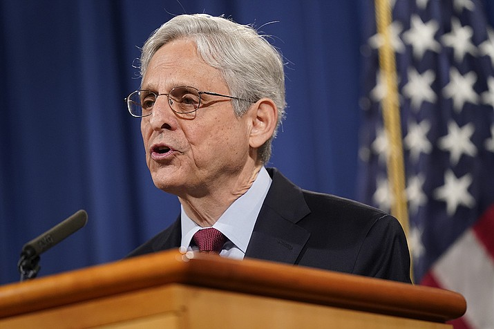 Attorney General Merrick Garland shown in June, has ordered a eral moratoruim on federal executions while the Justice Department conducts a review of its policies and procedures. (Patrick Semansky/AP)