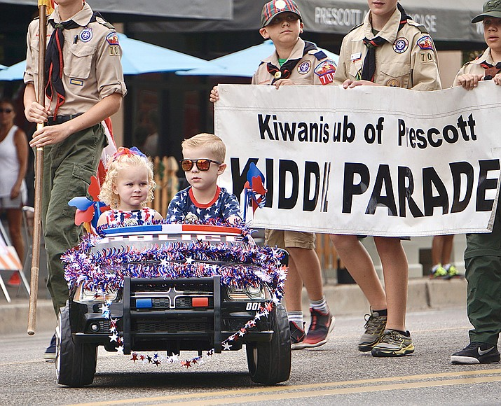 The 79th annual Kiwanis Kiddie Parade. (Aaron Valdez/Courier)
