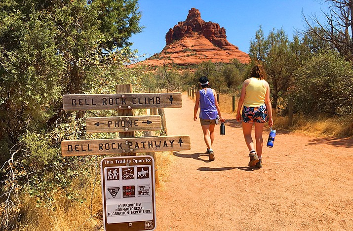 Hikers will be able to hike at Bell Rock again after the Coconino National Forest opened on Tuesday. VVN/Vyto Starinskas