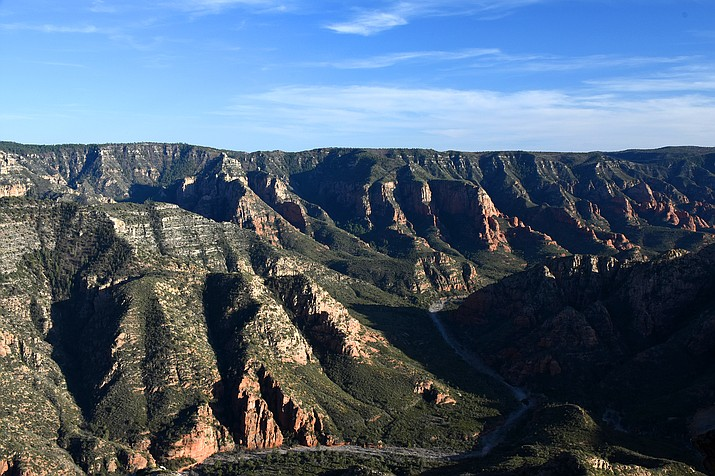 Sycamore Canyon in Kaibab National Forest. (Photo/USFS)