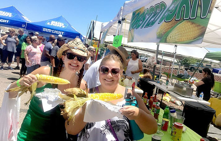 The main reason to attend Corn Fest is to watch the corn drip from the vats of melted butter just before you sink your teeth in the just-picked roasted delight. VVN file photo