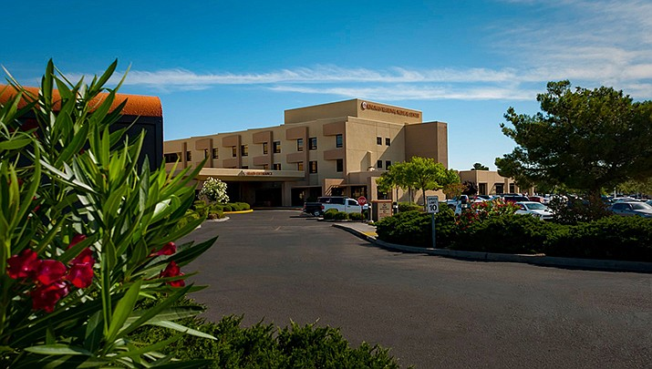 Kingman Regional Medical Center is reporting an increase in COVID-19 hospitalizations. (KRMC courtesy photo)