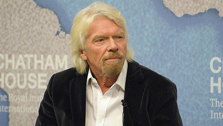 Richard Branson, the billionaire entrepreneur, rode into space on his own rocket ship on Sunday, July 11. (Photo by Chatham House, cc-by-sa-2.0, https://bit.ly/3hV02as)
