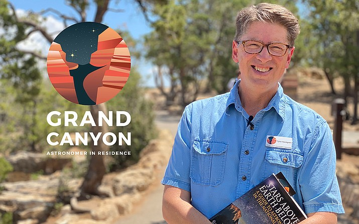 Dr. Tyler Nordgren is Grand Canyon National Park's inaugural Astronomer in Residence. Nordgren will complete his residency on the South Rim June 25-July 16. (Photo/Grand Canyon Conservancy)