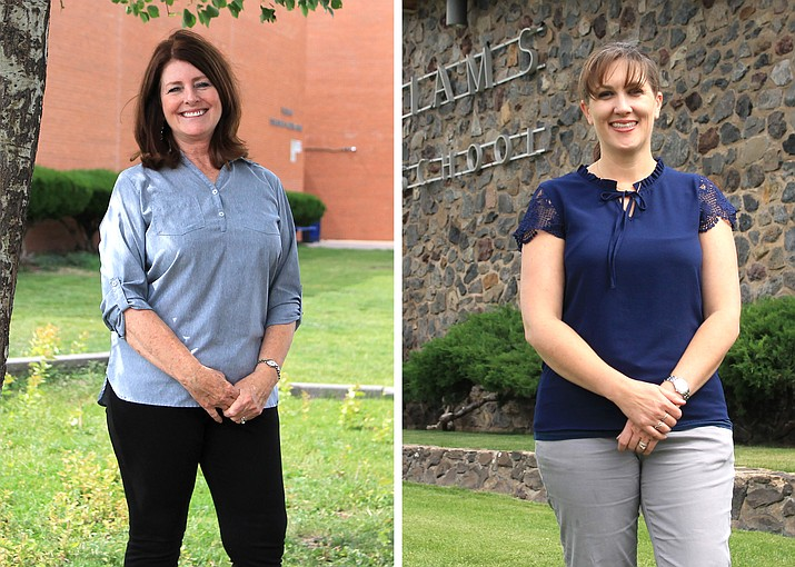 Tammara Ragsdale and Connie Hargis are the new principals at Williams Unified School District. (Wendy Howell/WGCN)
