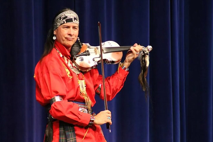 """Celtic Indian Arvel Bird brings his """"Animal Totems Concert"""" to the Sedona Arts Academy July 15, 7-9 p.m. (Courtesy)"""