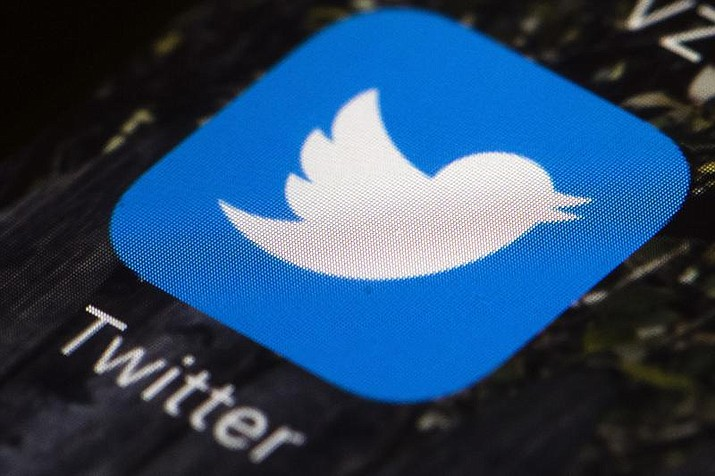 In this April 26, 2017 photo is a Twitter app icon on a mobile phone. Twitter is disappearing its disappearing tweets, called fleets, after they didn't catch on. (Matt Rourke/AP, File)