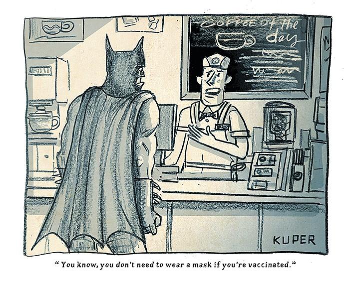 Editorial Cartoon   July 16, 2021