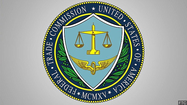 Seal of the Federal Trade Commission.