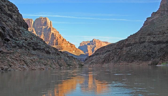 The Colorado River at Grand Canyon. (Stock photo)