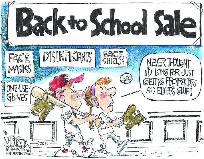 Editorial cartoon (1): July 19, 2021
