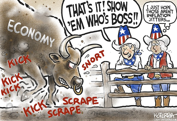 Editorial cartoon (2): July 19, 2021