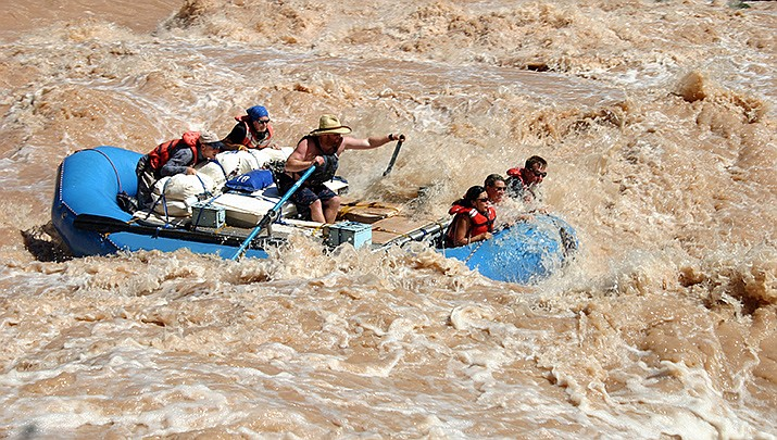 The body of a rafter has been recovered after a flash flood on the Colorado River in Grand Canyon National Park. (National Park Service file photo/Public domain)